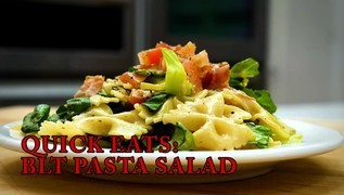 Quick Eats: BLT Pasta Salad