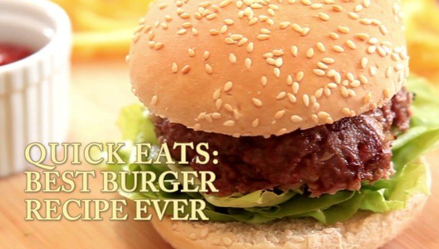Video the daily meal the best burger recipe ever forumfinder Image collections