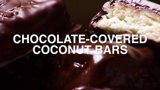 Chocolate-Covered Coconut Bars