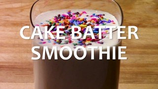Cake Batter Smoothie
